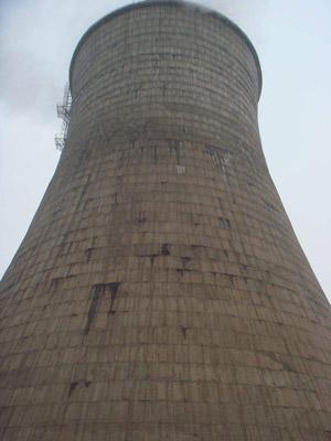 滑模水泥凉水塔