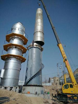 卷板制作套筒式不锈钢烟囱公司