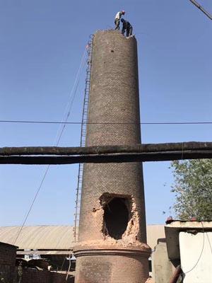砖烟囱拆迁专业公司