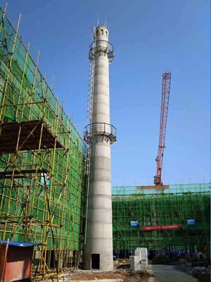 130米砼烟囱滑模新建专业公司