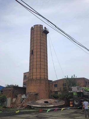 人工拆除砖烟囱公司