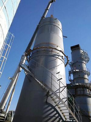 卷板安装自立式烟囱专业施工单位