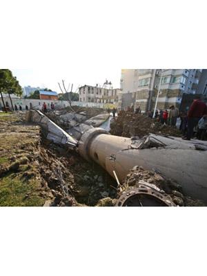 定向拆迁40米圆柱壳水塔专业施工公司