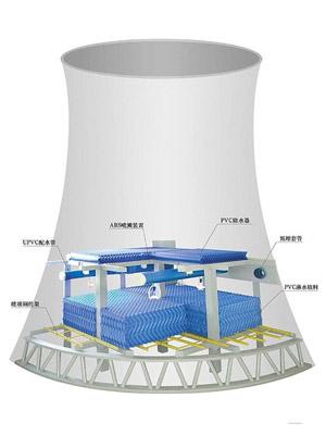 滑模冷却塔
