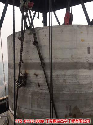 制作安装铁质烟囱专业施工公司