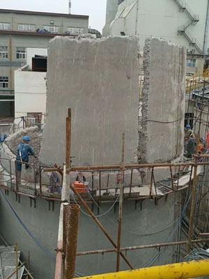 水泥烟囱拆迁专业施工公司